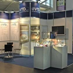 Messe Laser VTD Vakuumtechnik Dresden