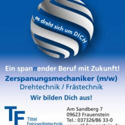 Anzeige Tittel Feingerätetechnik