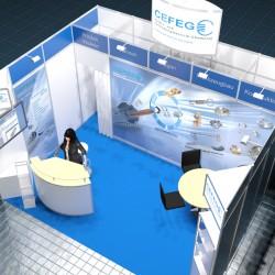 Messe Blechexpo 2015 CEFEG GmbH Chemnitz