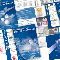 Ausstellerflyer Gemeinschaftsstand Messe Fachpack/Interpack