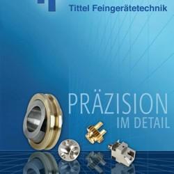 Image-Prospekt  Tittel Feingerätetechnik