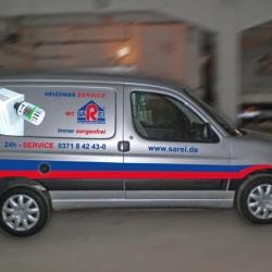 SAREI Heizungstechnik Servicefahrzeug