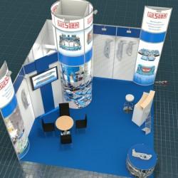 Messe Blechexpo 2015 Wesoba Sondermaschinen-und Werkzeugbau